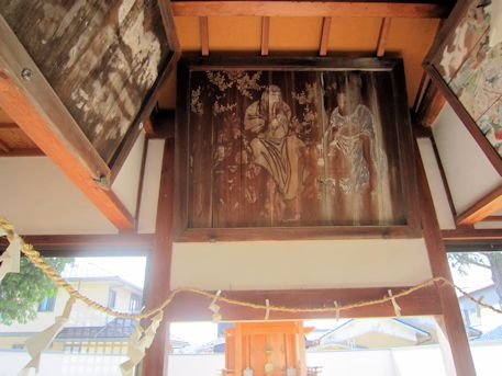 金橋神社の奉納絵馬