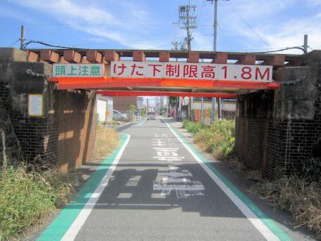 JR金橋駅近くの陸橋
