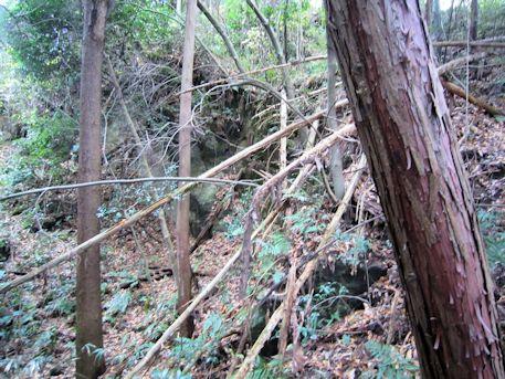 益田岩船のアクセスルート