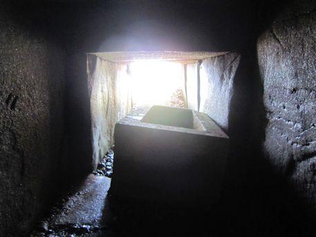 西宮古墳の横穴式石室