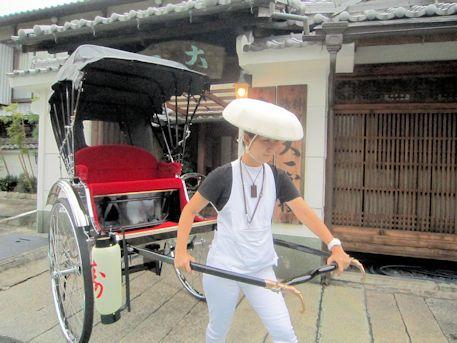 大神神社の婚礼人力車