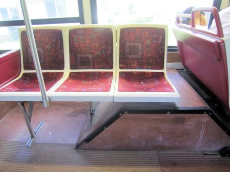ザ・バスの座席
