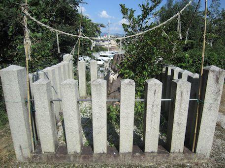 鳥坂神社の神籬