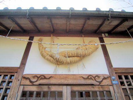 鳥坂神社注連縄
