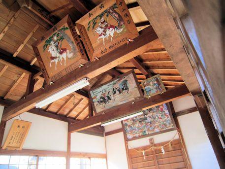 鳥坂神社の奉納絵馬