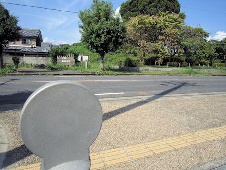 益田池堤跡