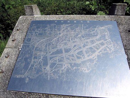 益田池復元図