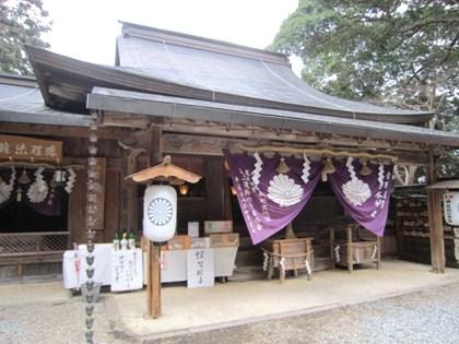 吉水神社本殿