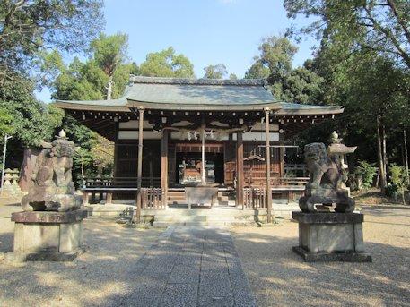 伊射奈岐神社拝殿