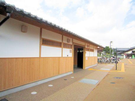 道の駅『飛鳥』公衆トイレ