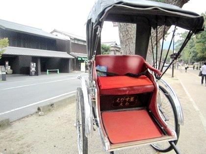 奈良の人力車