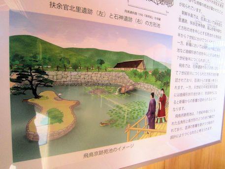 飛鳥京跡苑池イメージ図
