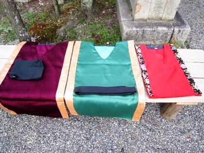古代衣装の貫頭衣3種類