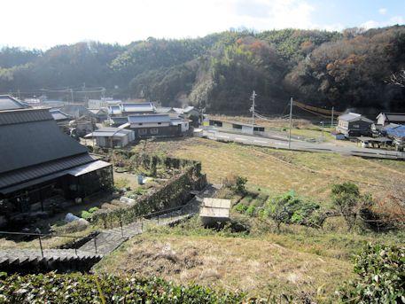 坂合黒彦皇子墓からの眺望