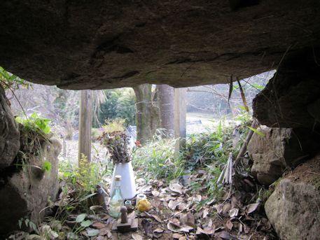 保久良古墳の横穴式石室