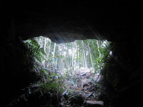 槇ヶ峯古墳の横穴式石室