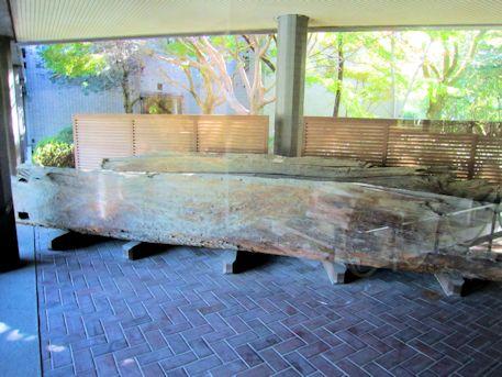 益田池の樋管
