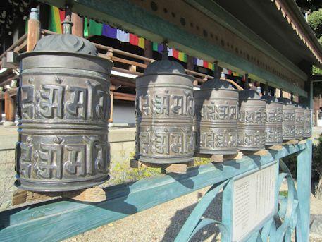 大念仏寺のマニ車