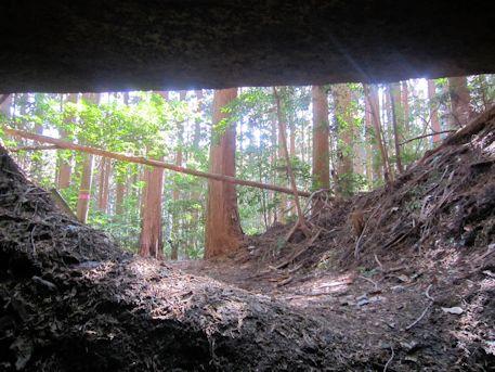 花山東塚古墳の横穴式石室