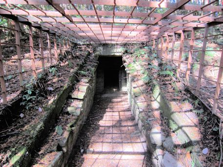 花山西塚古墳の石室