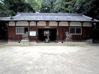 推古神社拝殿