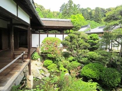 長岳寺旧地蔵院庭園