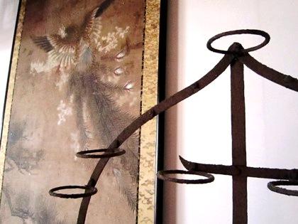 長岳寺の掛軸