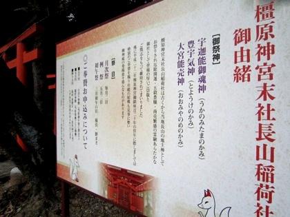 長山稲荷社由緒
