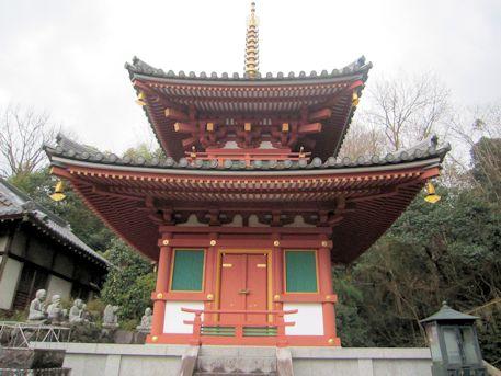 平等寺二重塔