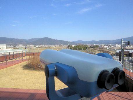 橿原総合庁舎の展望