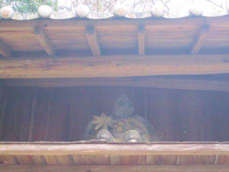 泉徳寺仁王門の天狗像