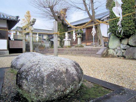 素戔嗚神社の磐座