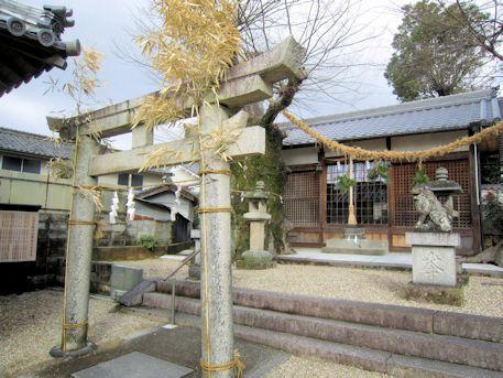 素戔嗚神社の鳥居