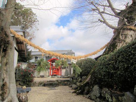 素戔嗚神社の白山神社
