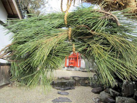 素戔嗚神社の綱掛祭