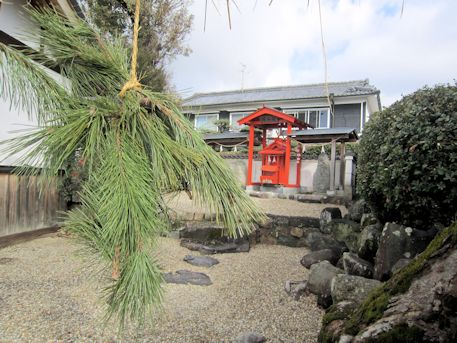 素戔嗚神社の綱掛