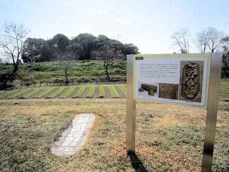 巣山古墳外堤北の円筒棺