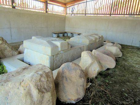北今市1号墳の移築保存