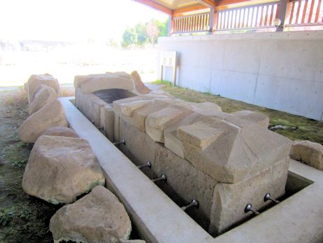 北今市1号墳の家形石棺