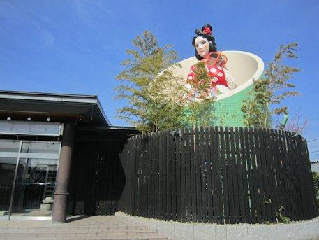 竹取物語オブジェ