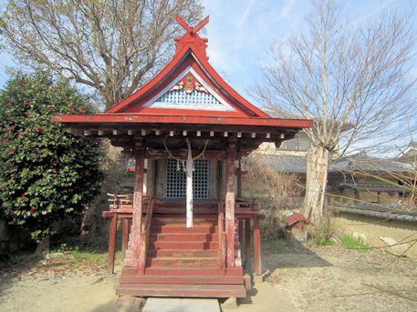 大福寺の天神社