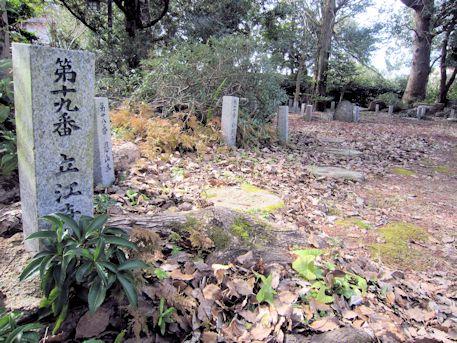 立江寺の霊石