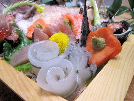 舟盛の細魚
