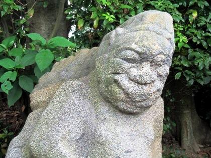 猿石の山王権現