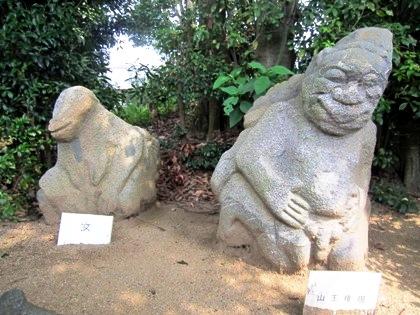 明日香村の猿石