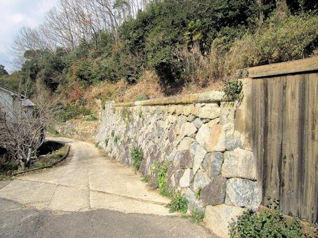 大根田の石垣