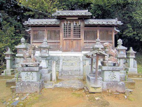 明日香村大根田の八王子神社