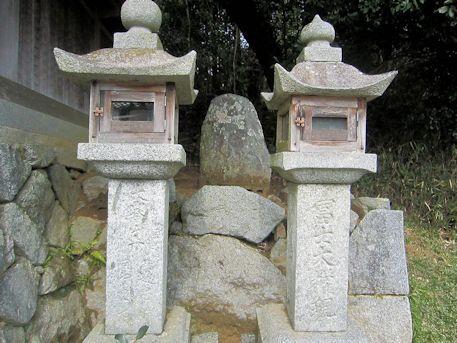 八王子神社の富士大権現