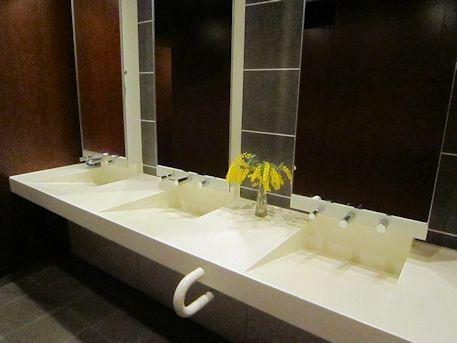四神の館トイレ