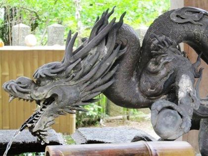 松尾寺の手水舎